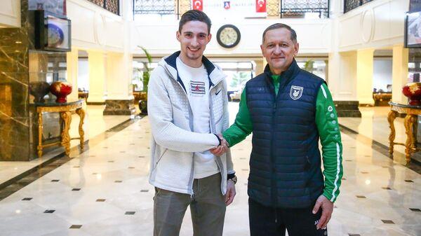 Футболист Солтмурад Бакаев
