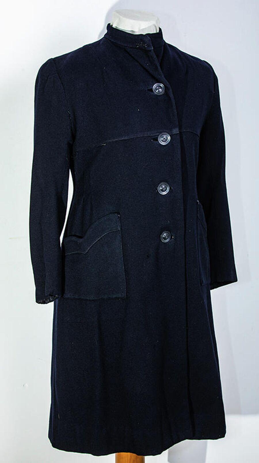 Пальто узницы концлагеря Освенцим, использованное Ириной Иванниковой при побеге