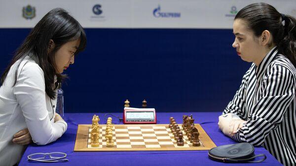 Шахматы. Первенство мира. А. Горячкина – Ц. Вэньцзюнь. Тай-брейк