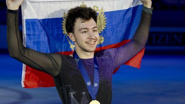 Фигурист Дмитрий Алиев