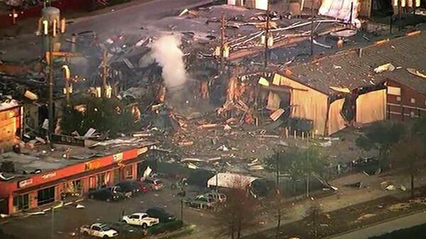 Последствия взрыва в Хьюстоне в пятницу, 24 января 2020