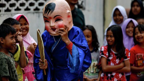 Празднование Нового года по лунному календарю в Банда-Ачех, Индонезия