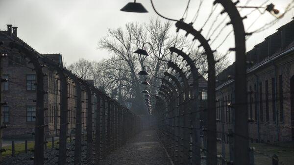 Музей на территории бывшего концентрационного лагеря Аушвиц-Биркенау в польском Освенциме