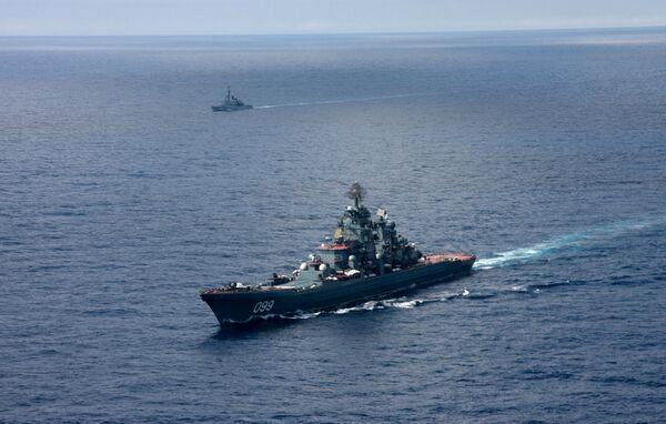Тяжелый атомный ракетный крейсер Петр Великий
