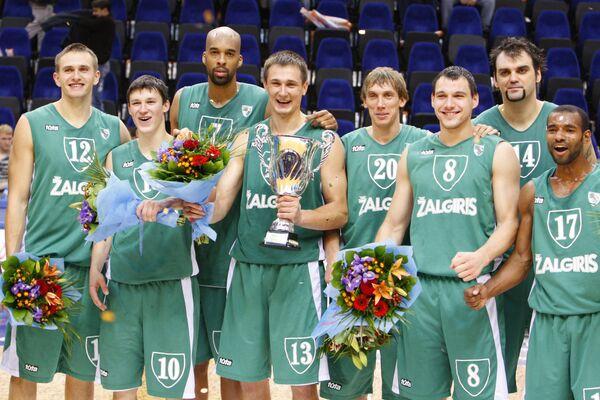 Баскетболисты Жальгириса