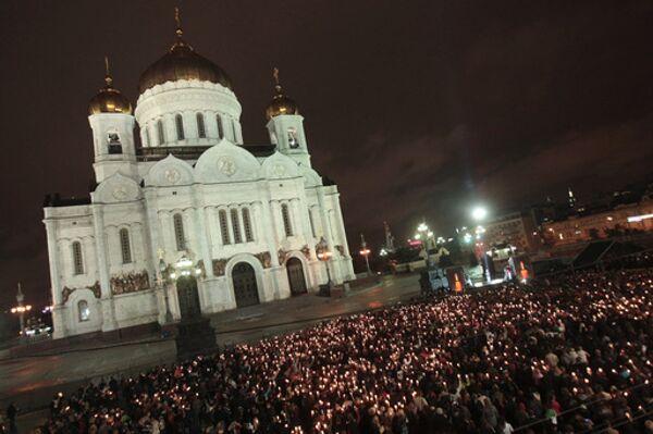 Празднование Рождества в Москве проходит без происшествий - ГУВД