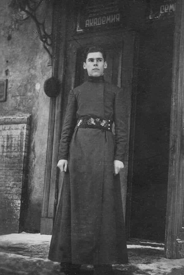 Патриарх Московский и Всея Руси Алексий II в молодости