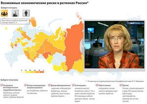 Возможные экономические риски в регионах России