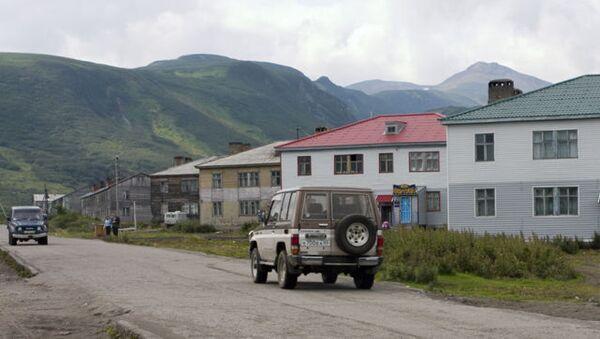 Главная улица Северо-Курильска