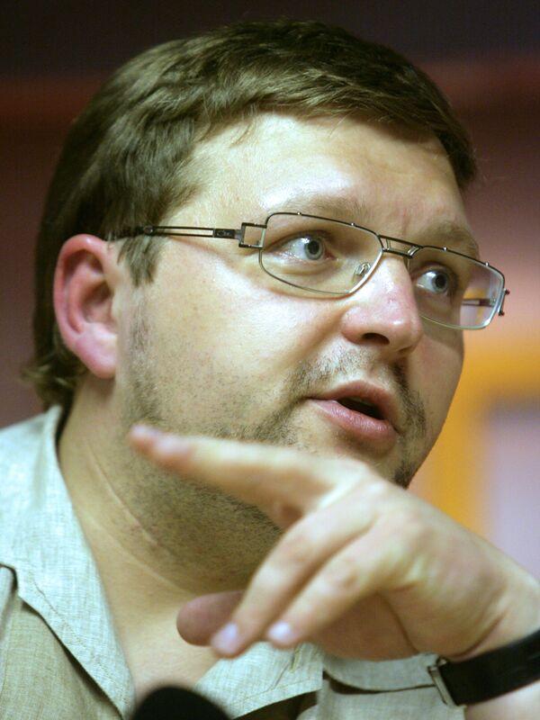 Экс-лидер СПС Никита Белых