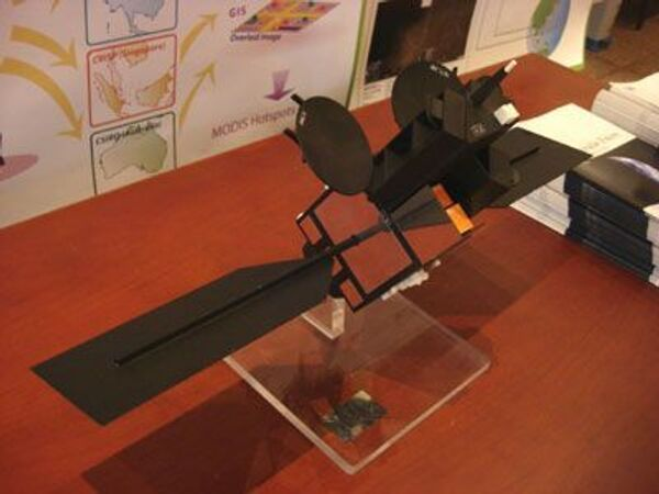 макет спутника Vnredsat-1
