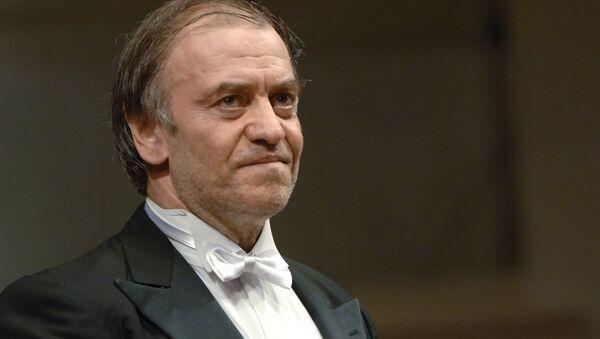 Художественный руководитель, главный дирижер Мариинского театра Валерий Гергиев. Архивное фото