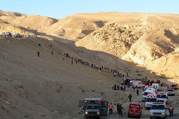 Авария автобуса с российскими туристами в Израиле