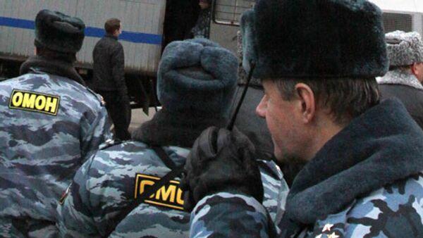 Милиционеры ищут грабителей
