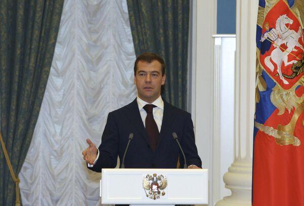 Медведев: Год после избрания
