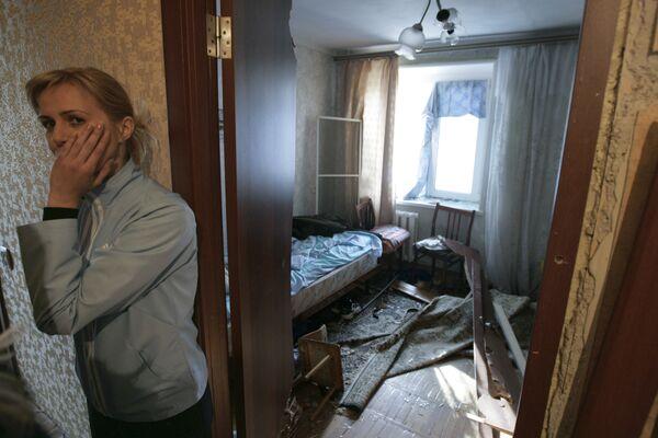 Взрыв бытового газа в жилом доме. Архив