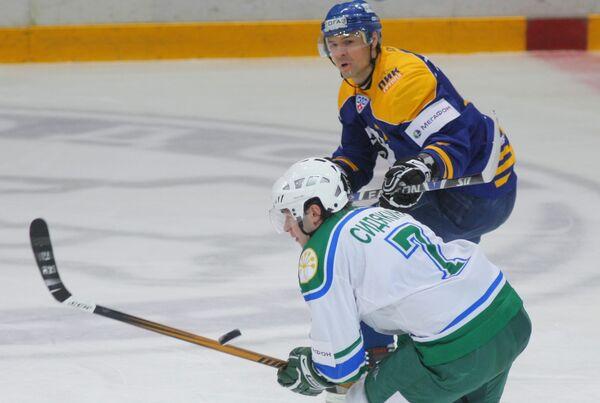 Континентальная хоккейная лига. 37-й тур. «Атлант» (Московская область) - «Салават Юлаев» (Уфа)