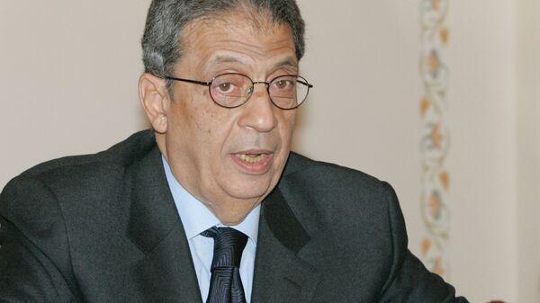 Генеральный секретарь Лиги арабских государств (ЛАГ)  Амр Муса