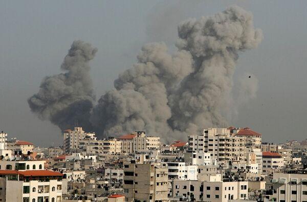 Израильские бомбардировки сектора Газа