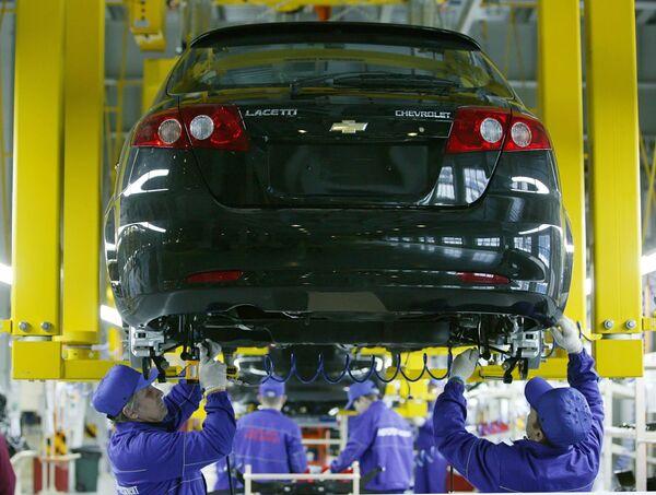 На заводе General Motors