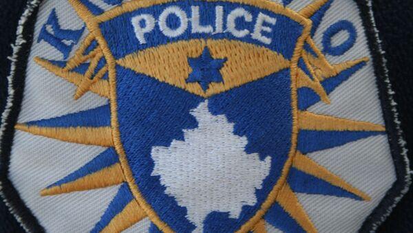 Эмблема косовской полиции. Архивное фото