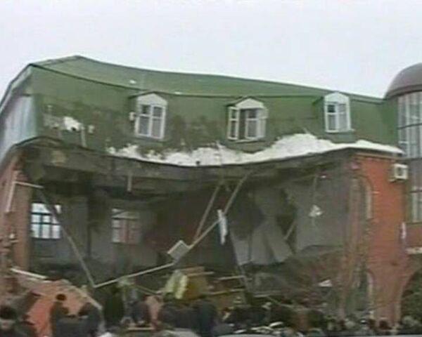 В Назрани взорвано здание службы судебных приставов