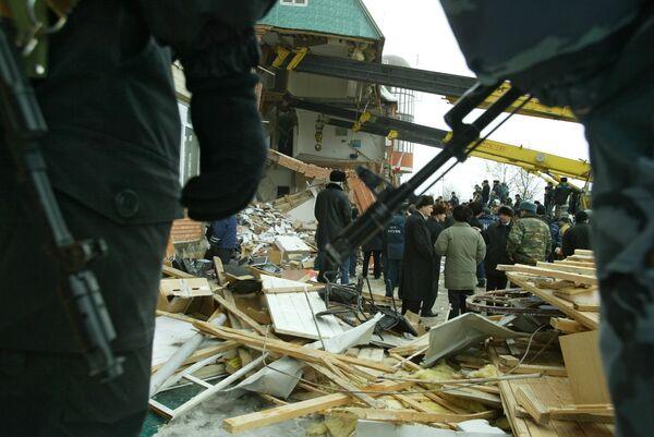Взрыв в здании Управления Службы судебных приставов РФ по Республике Ингушетия