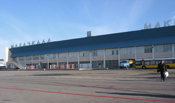 В аэропорту города Махачкалы
