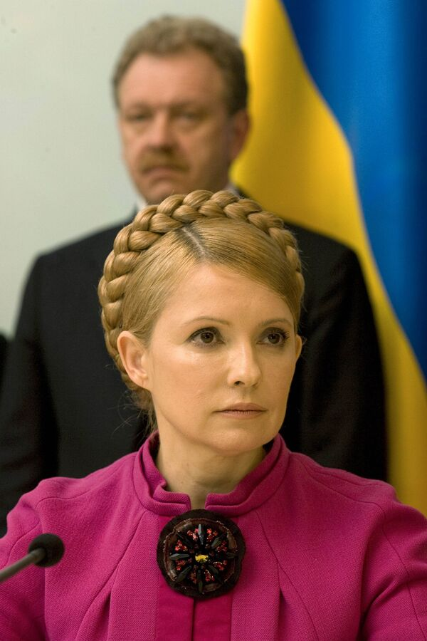 Премьер Украины Юлия Тимошенко