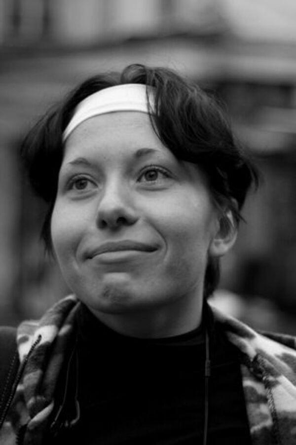 Корреспондент Новой газеты Анастасия Бабурова, погибшая при покушении на адвоката Станислава Маркелова