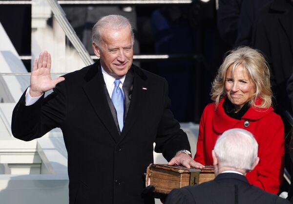 Джозеф Байден принял присягу и стал новым вице-президентом США
