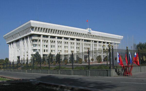 Парламент Киргизии рассмотрит новую структуру правительства