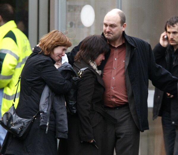 Родители детей, пострадавших в результате нападения на детский сад в Бельгии