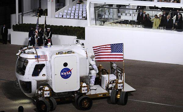 Луноход для инаугурации Обамы создали, применив российские разработки