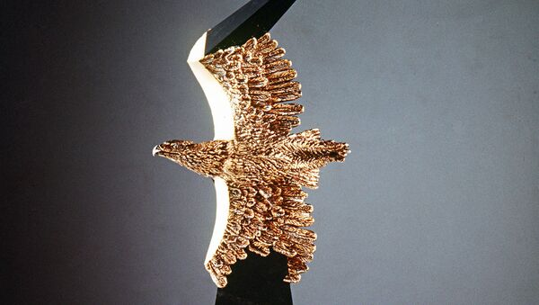 Статуэтка Золотой орел. Архивное фото