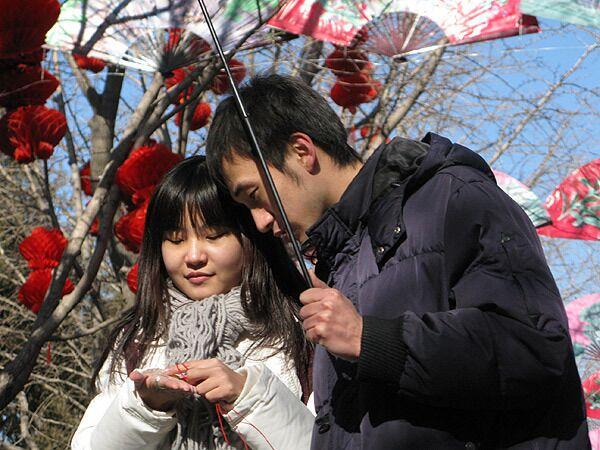 Молодые китайцы
