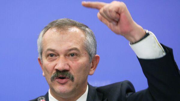 Член комитета Верховной рады Украины по вопросам бюджета Виктор Пинзеник. Архивное фото