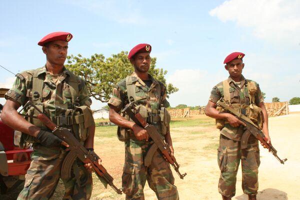 Солдаты Шри-Ланки. Архив