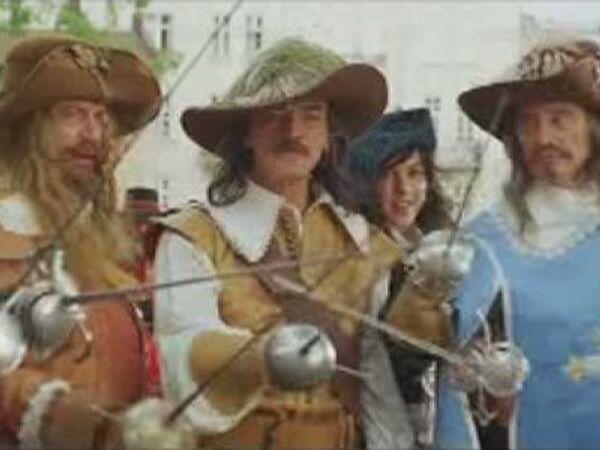 В новом фильме мушкетеры спасут Францию от финансового кризиса