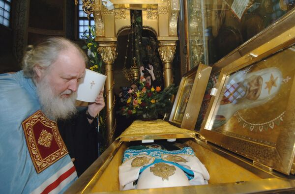 Новоизбранный патриарх Московский и всея Руси Кирилл