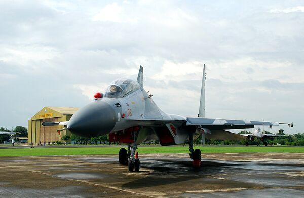 Истребитель Су-30МК2