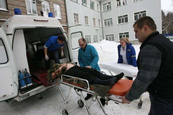 Работа бригад скорой медицинской помощи