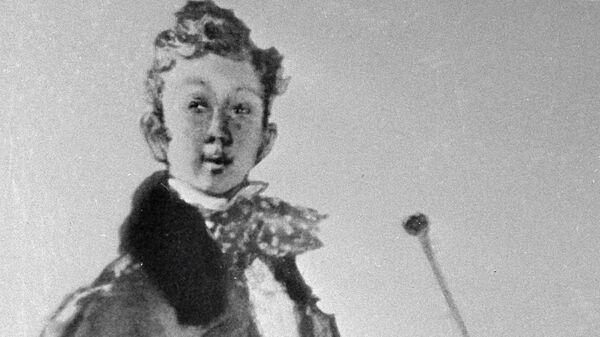 Хлестаков на иллюстрации Ювеналия Коровина к комедии Гоголя Ревизор