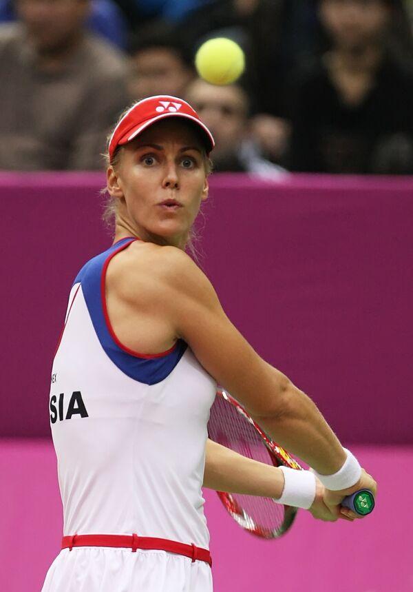 Российская теннисистка Елена Деметьева