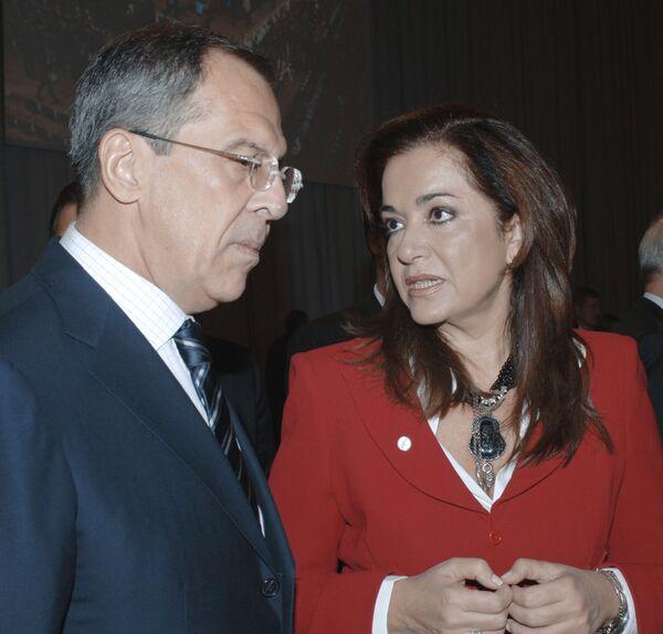 министр иностранных дел Греции Дора Бакоянни