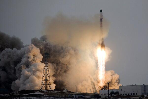 Пуск РН Союз-У с ТГК Прогресс М-66 осуществлен с Байконура