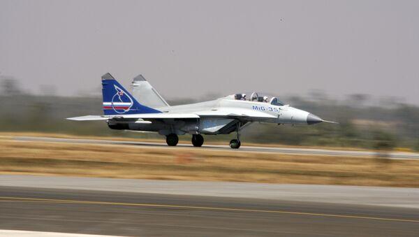 МиГ-35Д на AERO INDIA 2009