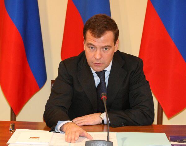 Медведев посетит 1 марта итальянский город Бари