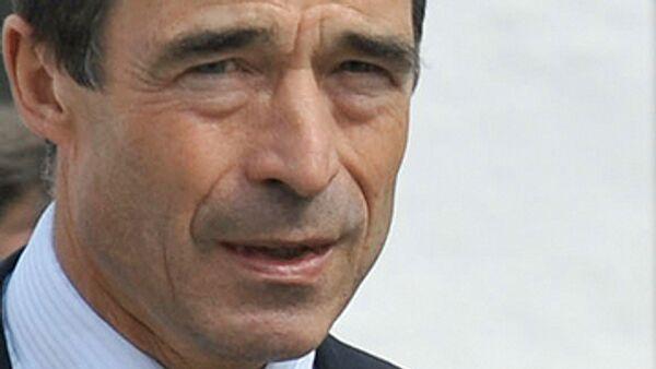 Генералдьный секретарь НАТО Андерс Фог Расмуссен. Архив