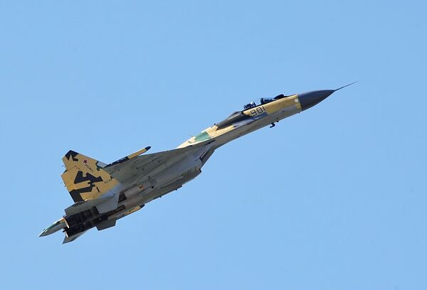 Новый многофункциональный истребитель Су-35